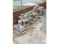 Cement rubble