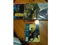 Batman comics and novels