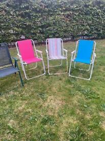 Deck/garden chairs