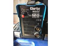 Clarke Weld Arc-Tig 120 inverter welder