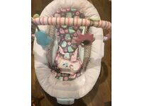 Mothercare pink bouncer