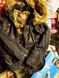 Girls jacket coat 12-13 yeras