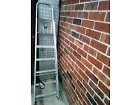Aluminium step ladders decorators