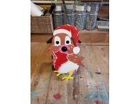 Christmas Robin bird box
