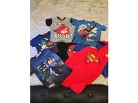 Bundle of Boys Tshirts Age 4-6