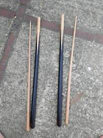 Snooker Cue - pool. Classic BCE