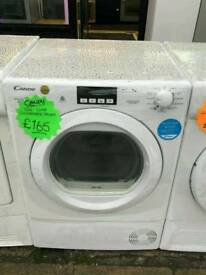 CANDY 9 KG CONDENSER DRYER IN WHITE