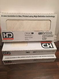 3 x packs of brand new wickes wall tiles