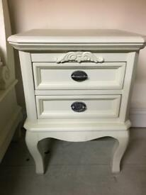 Beautiful cream bedside tables