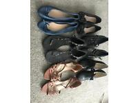 Shoes used but good condition size 7 £3 each