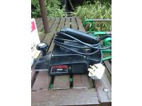 Electric hand planer