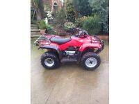 Honda 250 farm quad with sprayer can be sold separately