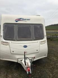 FIXED BED 2007 BAILEY 4 BIRTH CARAVAN