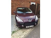 PEUGEOT 307 1.6HDi Turbo Diesel Purple Hatch