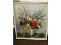 REDUCED PRICE. Framed picture, Autumn Portrait, signed by Vernon Ward