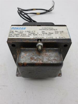 Dongan Control Transformer 33-100-17 .100kva 1 Phase