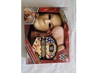 WWE John Cena Deluxe with Mask, Padded Suit & Title Belt New Aged 4-6