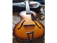 Kala Archtop tenor trapeze acoustic ukulele