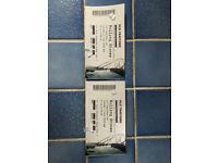 2 x ROLLING STONES TICKETS, MANCHESTER 5TH JUNE, EXCELLENT CENTRAL BLOCK