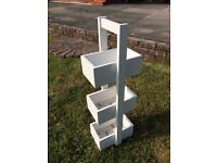@@LOVELY SHABBY CHIC WHITE STORAGE UNIT@@
