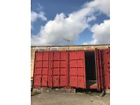 Shipping container self storage to rent