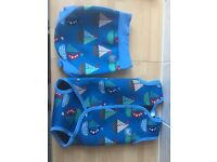 Swimsuit wrap around and swim nappy 0-6