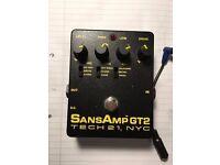 Sansamp GT2 Tube Amp emulator by Tech 21