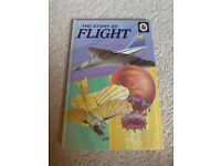 Two Enid Blyton book and hard back ladybird book of flight
