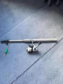 Fly fishing rod extendable
