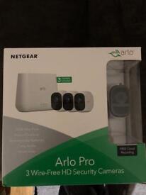 Arlo Pro 3 wire-free HD security cameras
