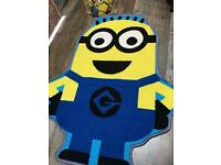 Minion rug and light shade