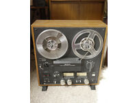 Sony TC-399 vintage 1970s open 2 track reel to reel tape recorder working collector's item