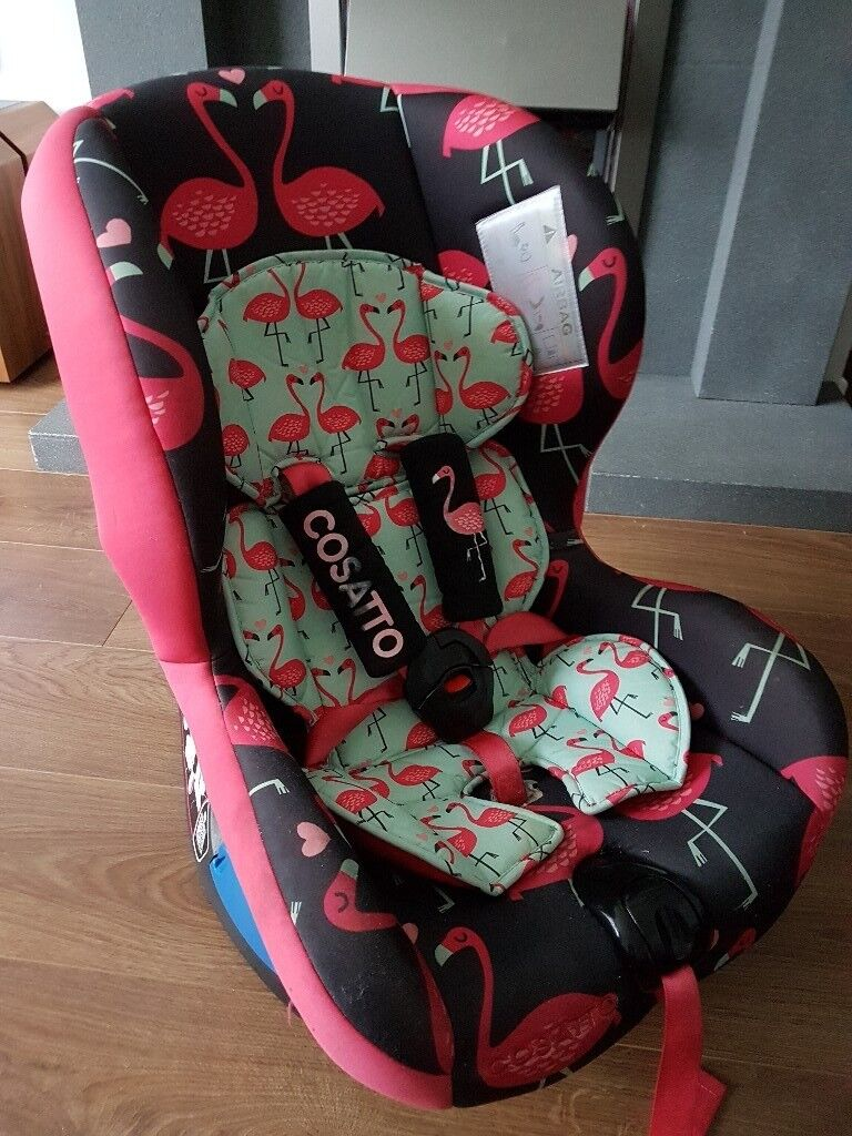 cosatto flamingo car seat group 1-2 | in Pontyclun, Rhondda Cynon ...