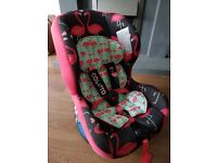cosatto flamingo car seat group 1-2