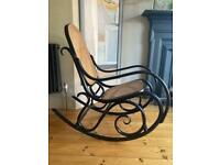 Beautiful vintage Rocking Chair Bentwood 'thonet' style