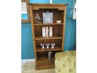 Stunning Ancient Mariner East Indies solid Mango Wood Bookcase. H180cm x D40cm x W90cm