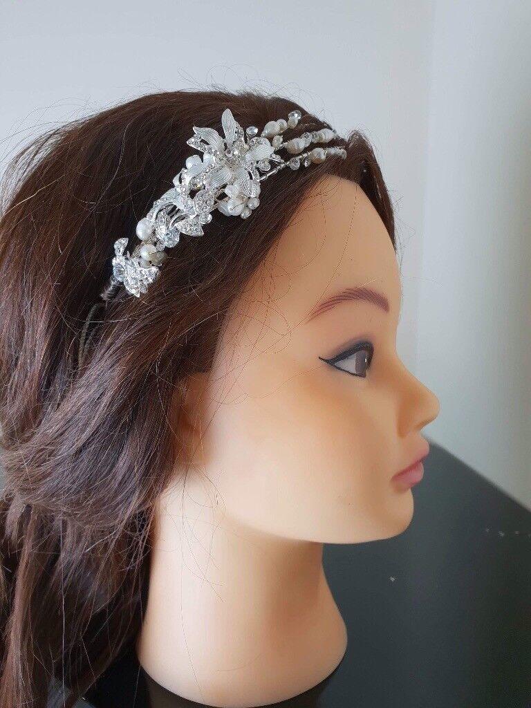 Designer Bridal Headpiece BNWT  f3ae1d7f8df