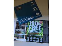 Paintball tickets (20 people) valid until 27/09/2020