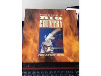 Signed LP Album Big Country, Through a Big Country