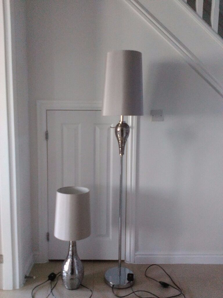 Next floor and table lamp mosaic mink in alton hampshire gumtree next floor and table lamp mosaic mink aloadofball Choice Image