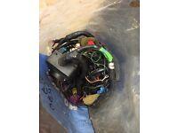 Escort rs turbo s2 full car wiring loom from running car