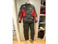 Brand New Motorbike TORNADO JACKET and TROUSERS Size Small