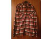 Checkered shirt large