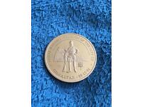 Royal Marine 'Freedom of the city of Gibraltar' commemorative coin.