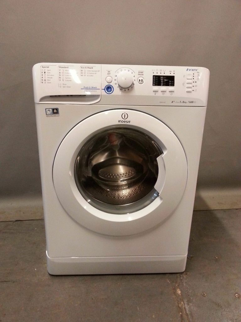 Indesit Washing Machine XWA81682/FS19519, 3 month warranty, delivery available in Devon/Cornwall