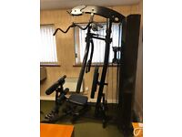 Marcy multi gym with extras
