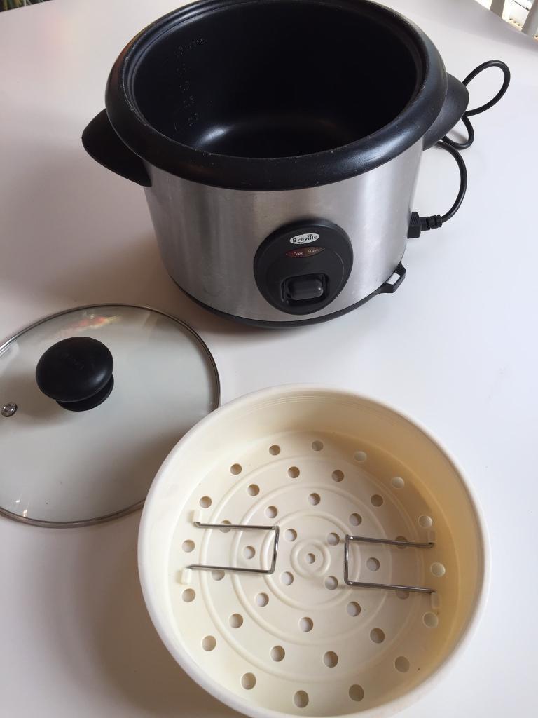 Breville Rice cooker with vegetable steamer