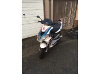Piaggio NRG power 70cc (registered as 50cc)