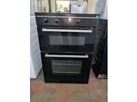 New Graded Indesit 'Built in' Double Oven (12 Month Warranty)