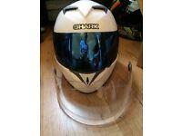 Shark s700 xs motorcycle helmet for sale